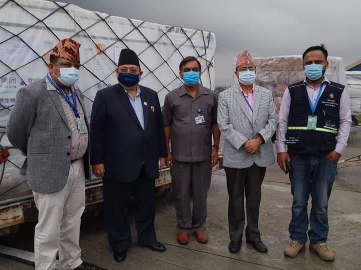 चीनबाट आइपुग्यो थप ४४ लाख डोज भेरोसेल खोप