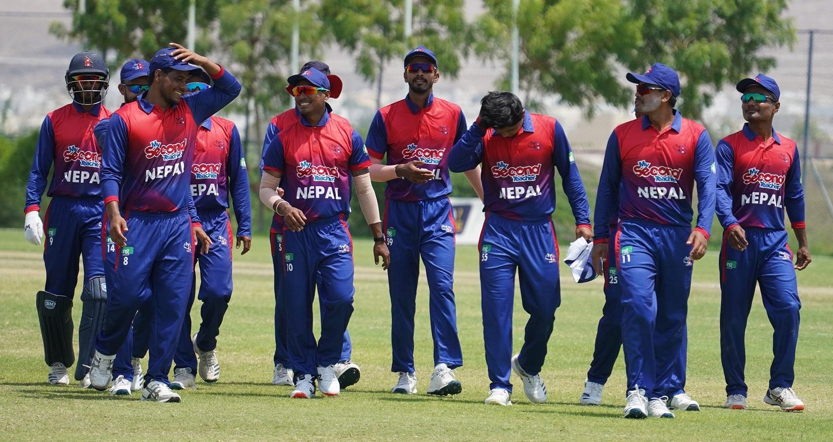 अमेरिकाविरुद्धको खेलमा नेपाल ५ विकेटले विजयी