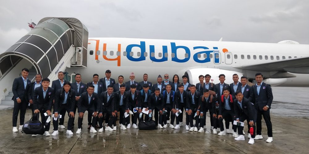 एएफसी यू-२३ एसियन कप छनोट खेल्न नेपाली टिम ताजकिस्तान