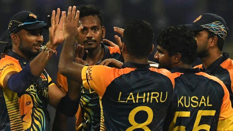 टी–ट्वान्टी विश्वकप : श्रीलंकाको विजयी सुरुवात